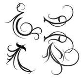 Decorative motifs Royalty Free Stock Photos