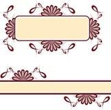 Decorative motifs swirl Royalty Free Stock Photography