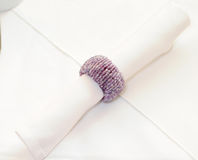 Decorative napkin holder Royalty Free Stock Photography