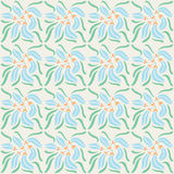 Decorative naturale seamless pattern Royalty Free Stock Photography
