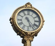 Decorative nostalgic clock Stock Photos
