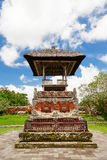 Decorative object in Taman Ayun Temple, royal temple in Bali, Indonesia. Royalty Free Stock Image