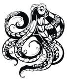 Decorative Octopus Stock Photos