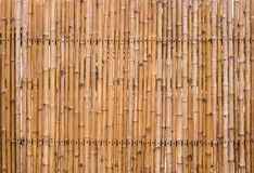 Decorative old bamboo wood  background Stock Photography
