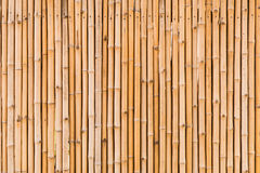 Decorative old bamboo wood Royalty Free Stock Photography