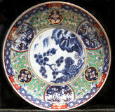Decorative old plate Royalty Free Stock Images