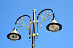 Decorative old street lamp Stock Images
