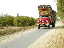Decorative old truck. From Pakistan Stock Images