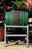 Decorative Old Wooden Barrel Stock Image