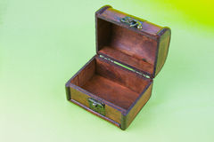 Decorative open small box Royalty Free Stock Photo