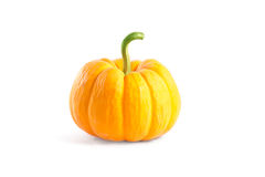 Decorative orange pumpkin Royalty Free Stock Photography