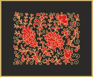 Decorative orient decor Stock Image