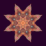 Decorative oriental rosette Royalty Free Stock Photography