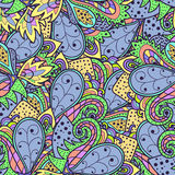 Decorative original seamless pattern Royalty Free Stock Images