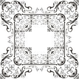 Decorative ornament of 19 centuries royalty free stock images