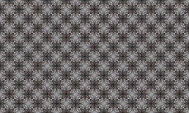 Decorative ornament. Abstract illustration. Seamless geometric pattern. grey color. for interior design, invitation, wallpaper Royalty Free Stock Images