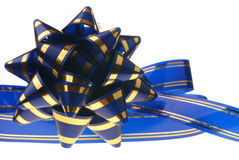 Decorative ornament background - dark blue Stock Images