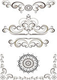 Decorative ornament border,frame. Banner Royalty Free Stock Image