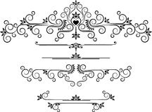 Decorative ornament border .  Graphic arts. Stock Photography