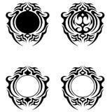Decorative ornament  Design. Decorative ornament shapes. My check portfolio other different image Stock Photo