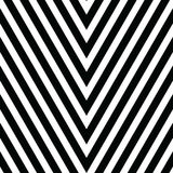 Decorative ornament, figurative design template with striped black white triangles. Background, texture with optical Stock Photo