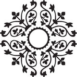 Decorative ornament. Pattern in vectors Stock Photography