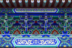 Decorative ornament roof detail Royalty Free Stock Photo