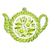 Decorative ornament teapot Stock Image