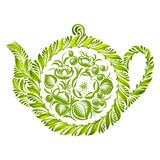 Decorative ornament teapot Stock Photography