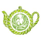 Decorative ornament teapot Royalty Free Stock Image