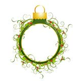 Decorative Ornament Wreath 2 Stock Photo