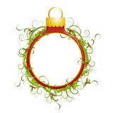 Decorative Ornament Wreath Royalty Free Stock Image