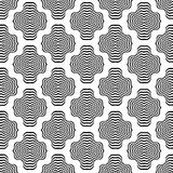 Decorative Ornamental Background. Abstract Geometric Retro Pattern Royalty Free Stock Image