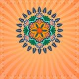Decorative ornamental ethnic background Stock Photos