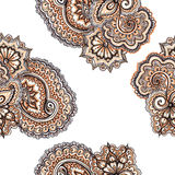 Decorative ornamental floral ornament with paisley. Repeating ornate pattern. Stock Photo