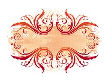 Decorative ornamental frame Stock Images