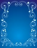 Decorative ornamental frame Stock Image