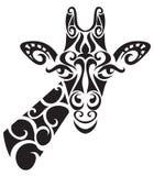 Decorative ornamental giraffe silhouette. Stock Photos
