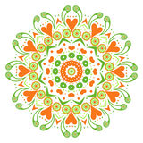 Decorative ornamental mandala design Stock Photography