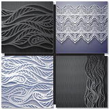 Decorative ornamental pattern background vector illustration