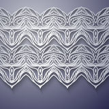 Decorative ornamental pattern background Royalty Free Stock Photography