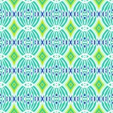 Decorative ornamental pattern with circular shapes Royalty Free Stock Photo