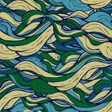 Decorative ornamental pattern hair algae Royalty Free Stock Photo