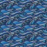 Decorative ornamental seamless pattern Royalty Free Stock Image