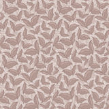 Decorative ornamental seamless spring pattern texture with leave Royalty Free Stock Image