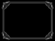 Decorative ornate border Royalty Free Stock Image