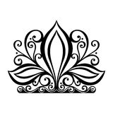 Decorative Ornate Crown Stock Image