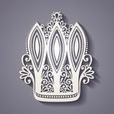 Decorative Ornate Crown Stock Photo