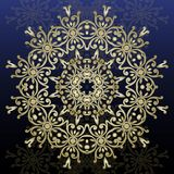 Decorative ornate round mandala. Vintage  pattern. Invitat Stock Photography