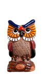 Decorative owl Royalty Free Stock Image